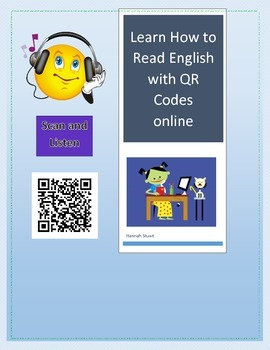 Learn English or Reading Skills with QR Codes and Online R