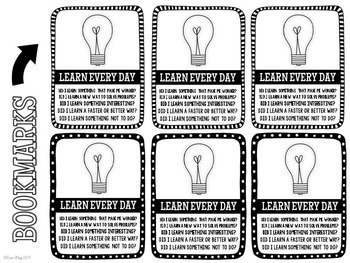 Learn Every Day Bookmarks