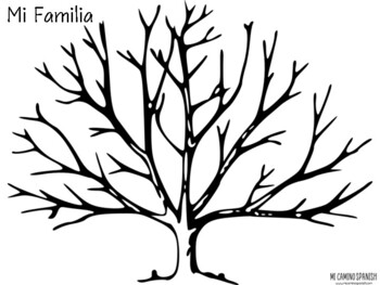 Learn Family Members in Spanish! (Family Tree Activity)