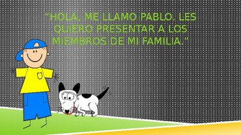 Learn Family Members in Spanish! - ¿Quiénes son? (Presentation with Q&A)