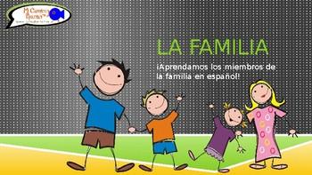 Learn Family Members in Spanish! - ¿Quiénes son? (Presenta