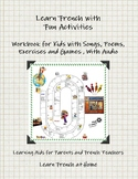 Learn French with Fun Activities - Workbook for kids - With Audio