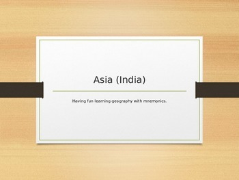 Learn Geography (India and surrounding countries)