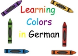 Learn German Colors Words for Primary Grades