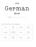Learn German Mini Book