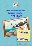Teach German with Games & Activities - Summer & Holidays