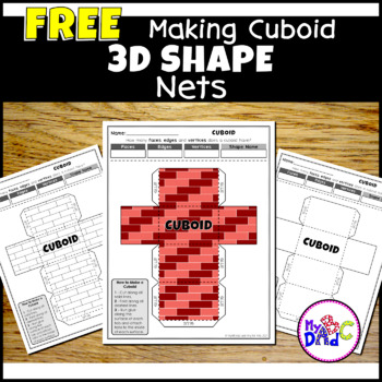 Learn How To Make A Piggy Bank With Us | Part 1 - Cuboid 3D Shape | MyABCDad