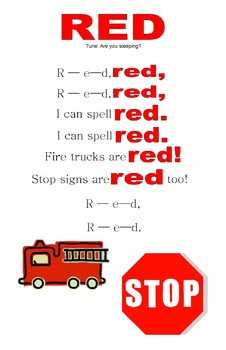 Learn How to Spell Color Words