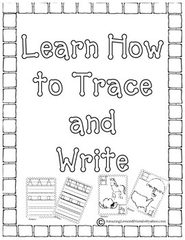 Learn How to Trace and Write