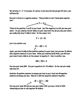 Learn How to Work with Negative Number in One Day
