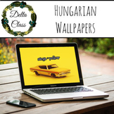 Learn Hungarian! - desktop wallpaper words