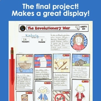 Revolutionary War Project (a Spin on a Social Media Favorite)