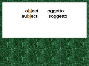Italian Made Simple: Cognate Codes 109-Consonants and Vowels