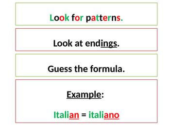 Italian Made Simple: Cognate Codes 107-Verbs