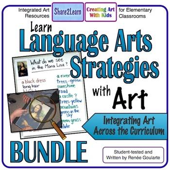 Art History Language Arts Strategies BUNDLE