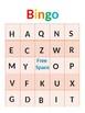 Learn Letters Bingo Game