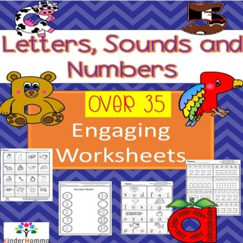 Learn Letters, Sounds and Numbers 0-10