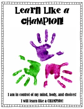 Learn Like a Champion Posters