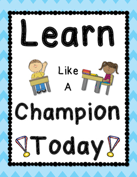 Learn Like a Champion Today
