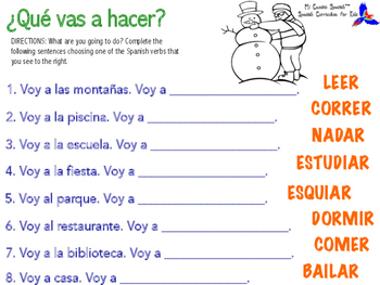 Learn Location Vocabulary in Spanish!