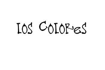 Learn Los Colores