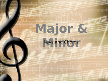 Learn Major and Minor through Pop Songs!
