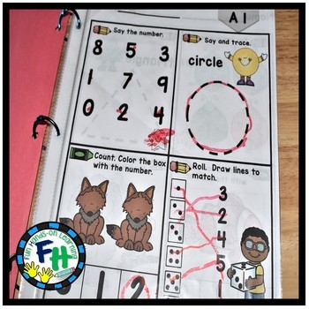Learn Math Leveled Proficiency {BUNDLE of Level A & B}