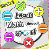 Learn Math through sport – Grade 2 PE games + worksheets f