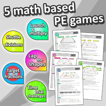 Learn Math through sport – Grade 3 PE games + worksheets for active learning