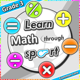 Learn Math through sport – Grade 3 PE games + worksheets f