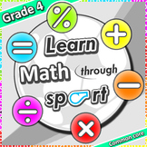 Learn Math through sport – Grade 4 PE games + worksheets f