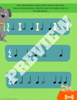 Learn Music With Rex - Activities For Young Beginners