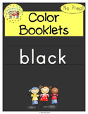 Black Color Activity Book