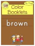 Brown Color Activity Book