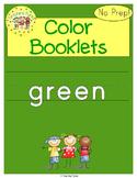 Green Color Activity Book