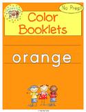 Orange Color Activity Book