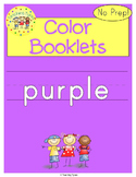Purple Color Activity Book