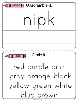 Color Activity Books