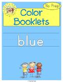 Blue Color Activity Book