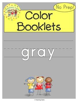 Gray Color Activity Book