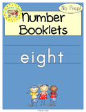 Number Eight Number Sense and Numeration Interactive Book