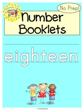 Number Eighteen Number Sense and Numeration Interactive Book