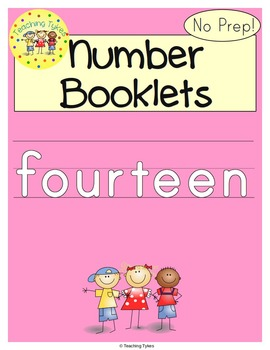 Number Fourteen Number Sense and Numeration Interactive Book