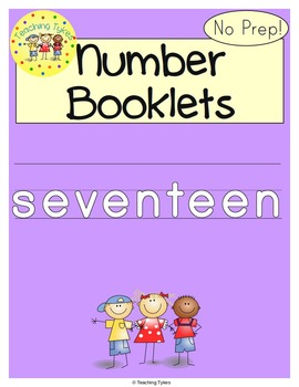 Number Seventeen Number Sense and Numeration Interactive Book