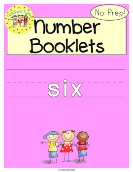 Number Six Number Sense and Numeration Interactive Book