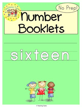 Number Sixteen Number Sense and Numeration Interactive Book