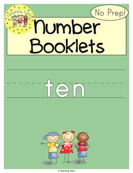Number Ten Number Sense and Numeration Interactive Book