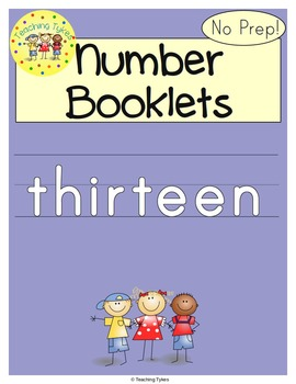 Number Thirteen Number Sense and Numeration Interactive Book