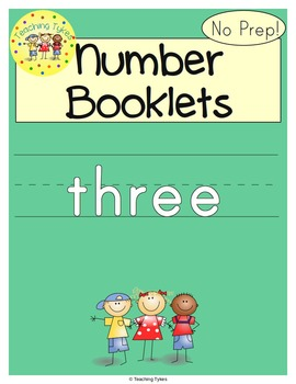 Number Three Number Sense and Numeration Interactive Book