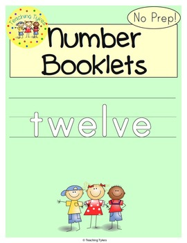 Number Twelve Number Sense and Numeration Interactive Book
